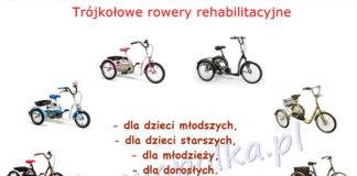 Rowery trójkołowe dla niepełnosprawnych jako doskonały sposób na rehabilitację